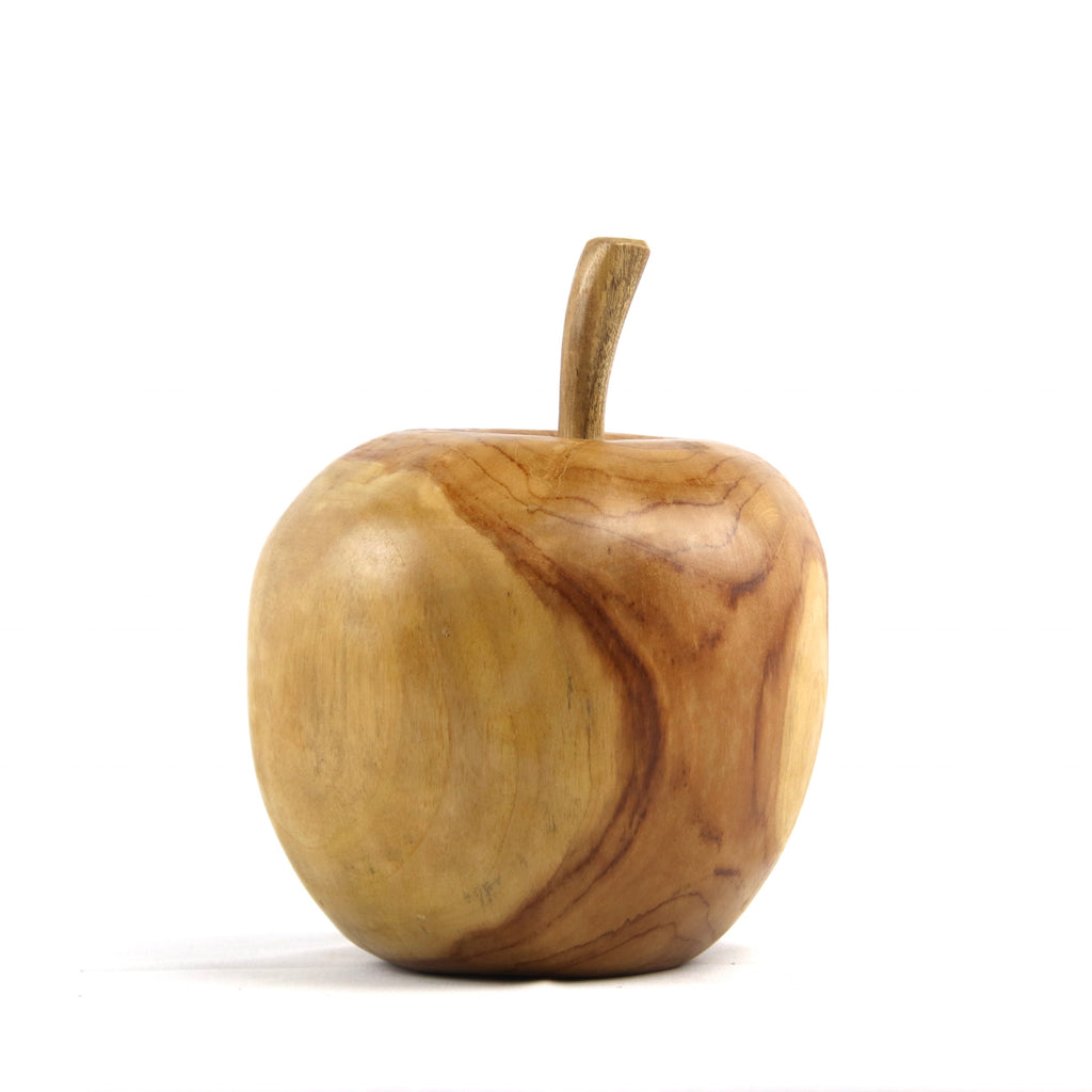 Apple Teak Sculpture
