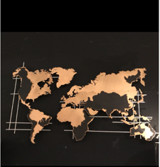 The World Map Wall Art-T