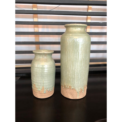Surry Ceramic Vase Pale Green 1316