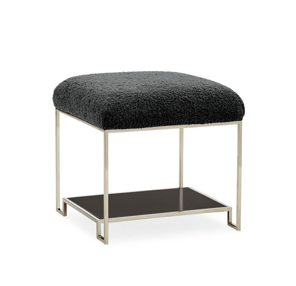 Thoroughly Modern Ottoman By Caracole® (ON SALE)