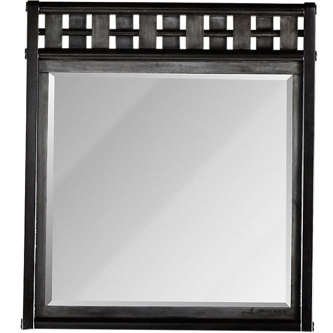 Gramercy Park Mirror Charcoal Finish (ON SALE)