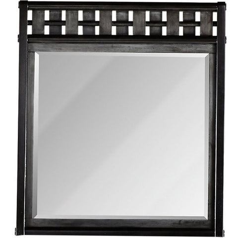 Gramercy Park Mirror Charcoal Finish