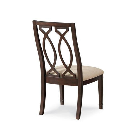 Intrigue- Wood Back Side Chair