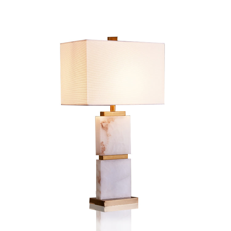 Marble Table Lamp ( ON SALE )