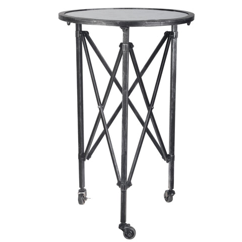 GILBERT SIDE TABLE,BLACK