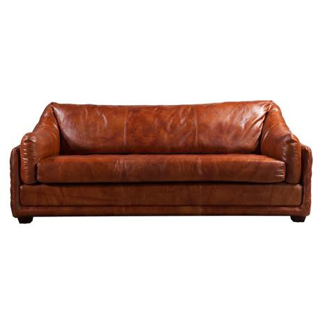 The 3-Seater Extra Comfy Leather Sofa (ON SALE)