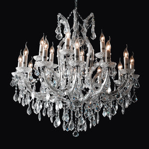 Crystal Chandelier 18 Light - Taylor B. Fine Design Group