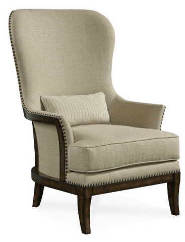 Logan - Exposed Wood-Back Accent Chair - Arroyo