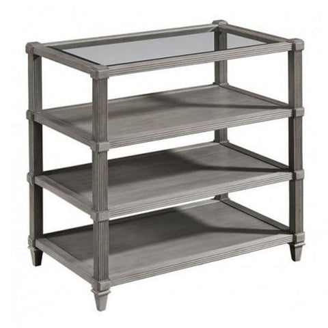 Ellman Book Table - Smoke Finish