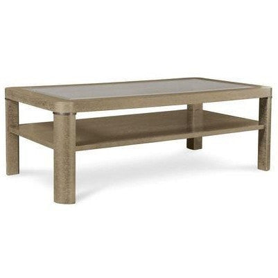 Image of Greenpoint Sandstone Rectangular Cocktail Table (ON SALE)