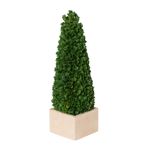Faux Boxwood Potted Topiary Tree , Small