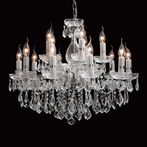 Crystal Chandelier 15 Light - Taylor B. Fine Design Group