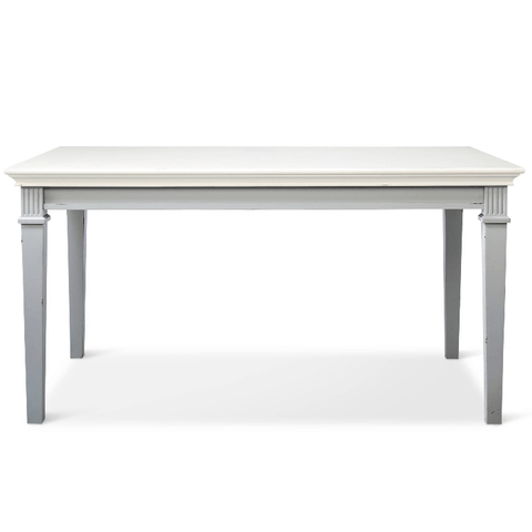 Beekman Dining Table Grey and White