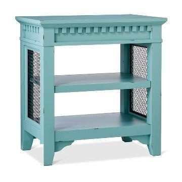 Image of Beekman End Table Turquoise Blue (ON SALE)