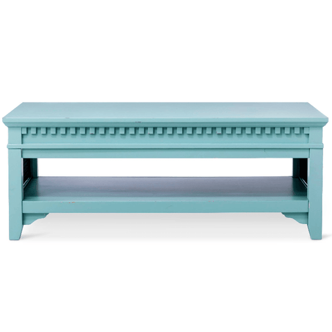 Image of Beekman Coffee Table Turquoise Blue