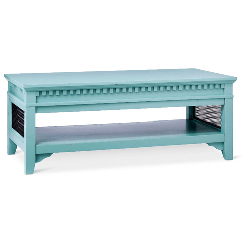 Beekman Coffee Table Turquoise Blue