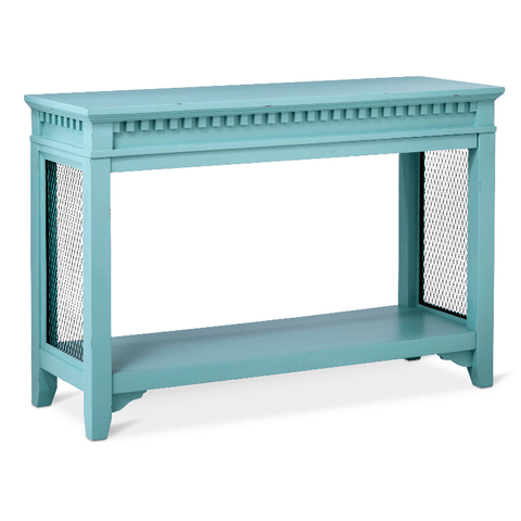 Beekman Console Turquoise Blue