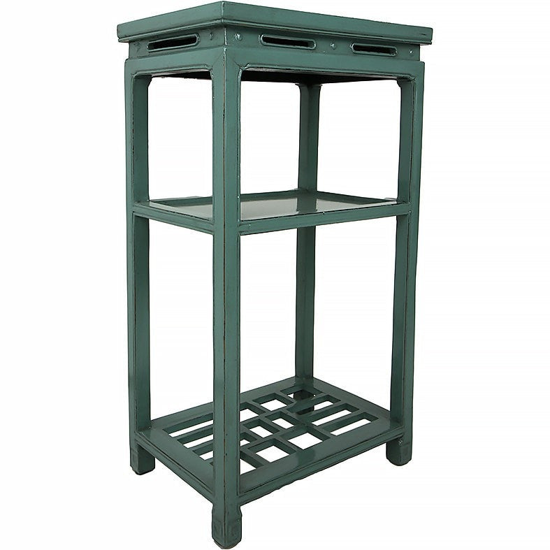 Tea Table - Jade Green