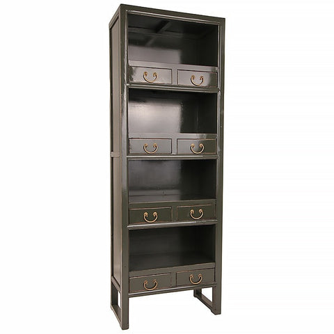 Bookcase Dark Grey