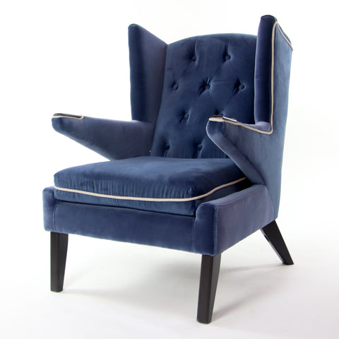 Fabric Tufted Backrest Accent Chair (ON SALE)