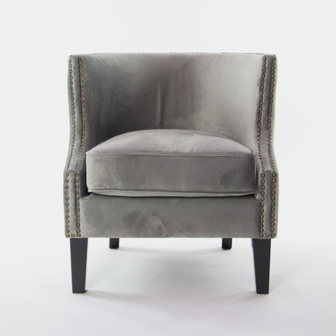 Image of Sloped Arms Accent Chair
