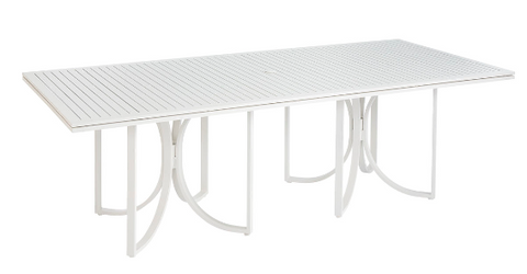 Cityscapes Outdoor-Empire Slat Top Rect,Dining