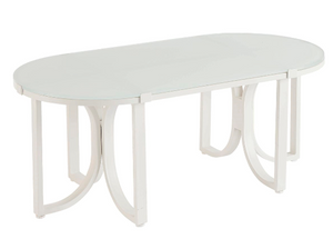 Cityscapes Outdoor-Manning Oval Cocktail Table