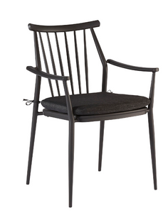 Epicenters Austin Outdoor-Darrow Arm Chair (Black) By A.R.T. Furniture