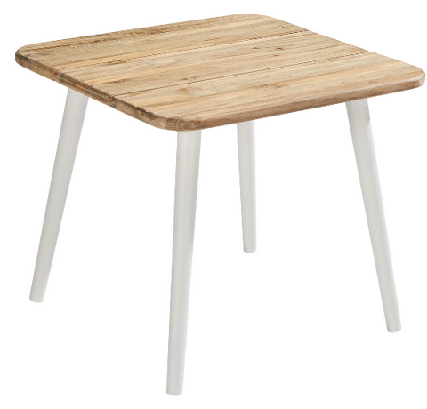 Epicenters Austin Outdoor - Darrow Recycle Teak End Table