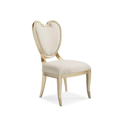 Image of Champagne Mist CENTER SIDE CHAIR by Caracole®