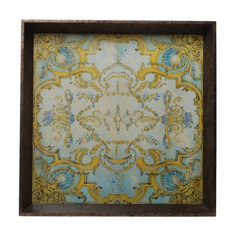 Neoclassic Patterned Tray