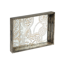 Mirror Patterned Tray 33797-2