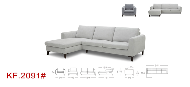 Sandra Sofa Sectional L Shape