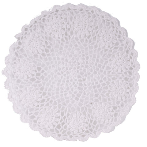 Lacy White Placemat