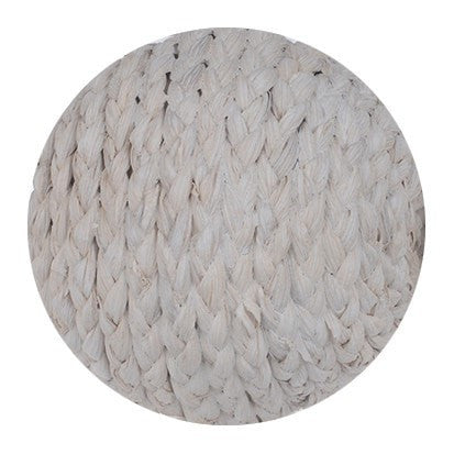 Woven Rope Decorative Spheres White