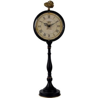 Lavonia Pedestal Table Clock TALL