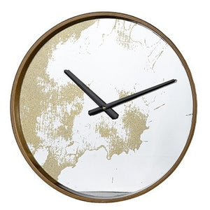 Echo Dust Wall Clock, Gold