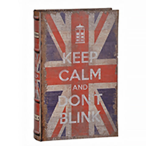 Keep Calm British Faux Book (Design 3)