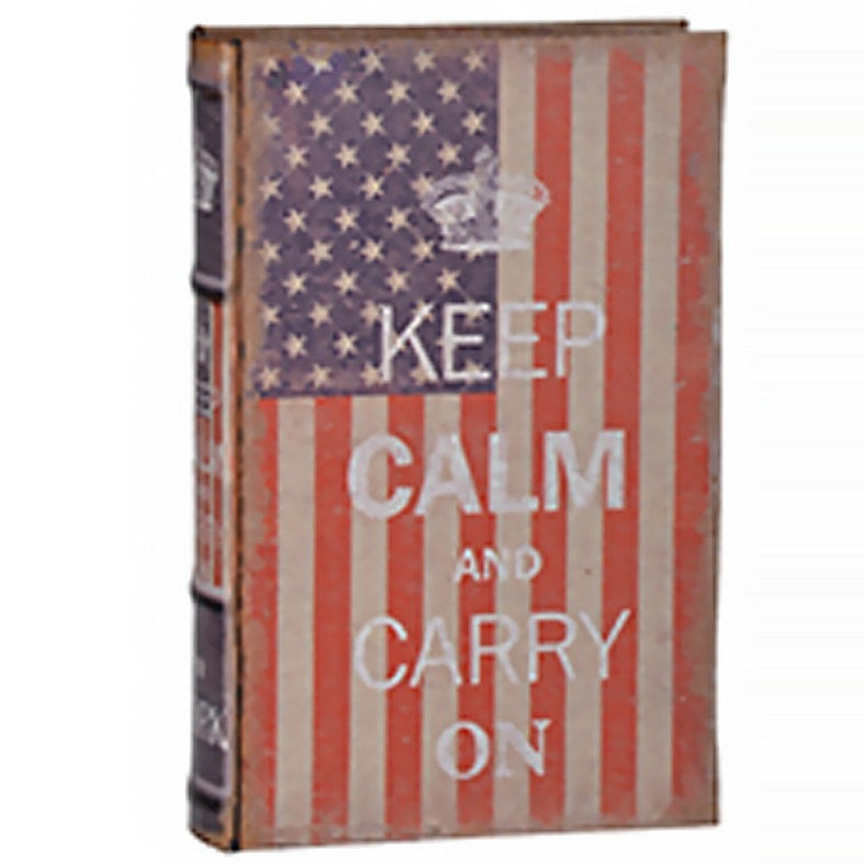 Keep Calm Liberty Faux Book (Design 2)