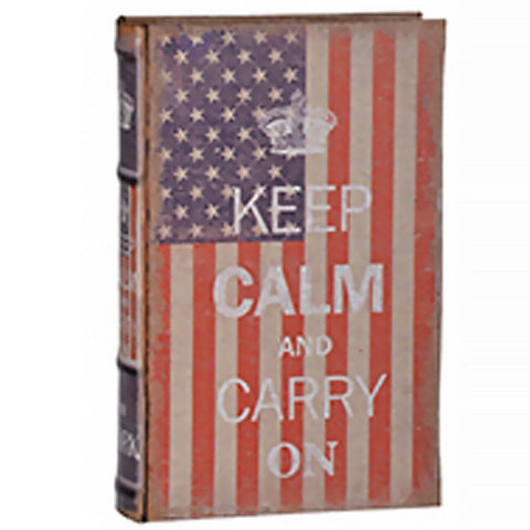 Keep Calm Liberty Faux Book Cases (Design 2)