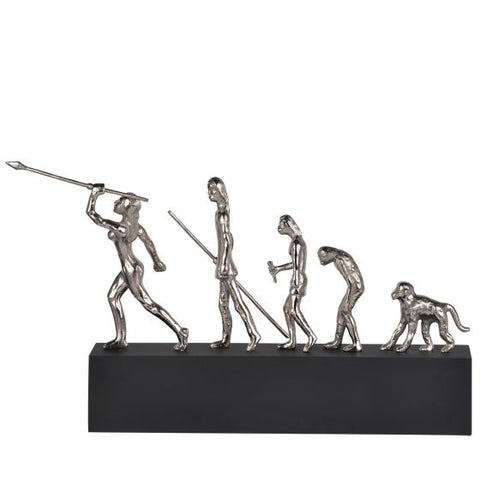 Mankind Evolution Statue Deco