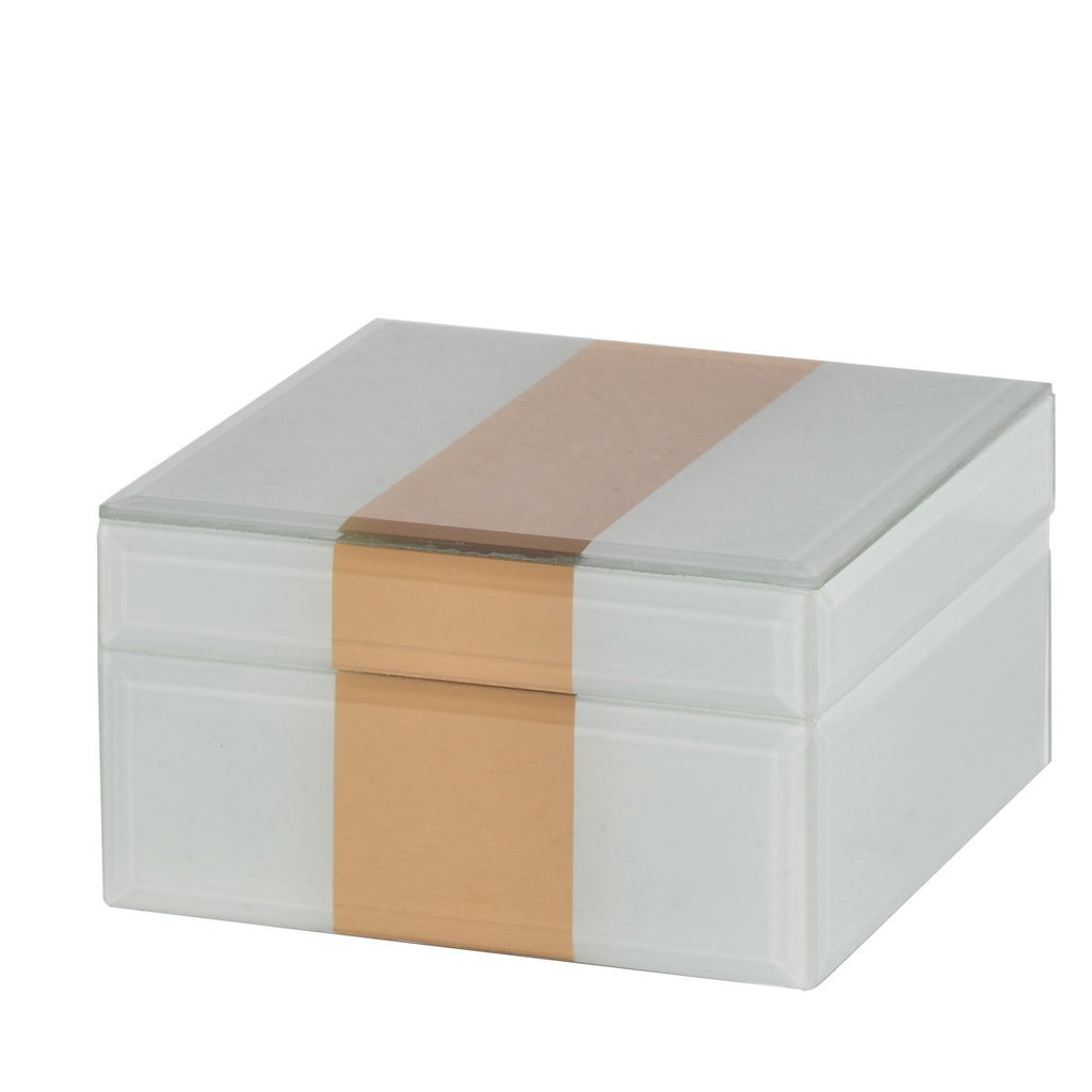 Effra Jewellery Box (Silver & Gold)