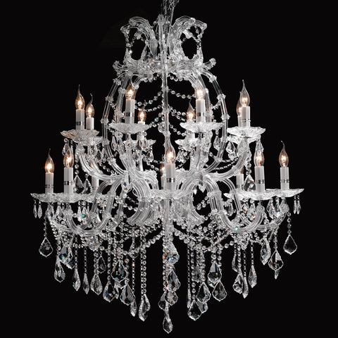 Crystal Chandelier 16 Light - Taylor B. Fine Design Group