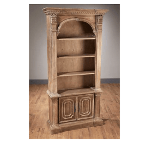 St. James Bookcase with Cabinet