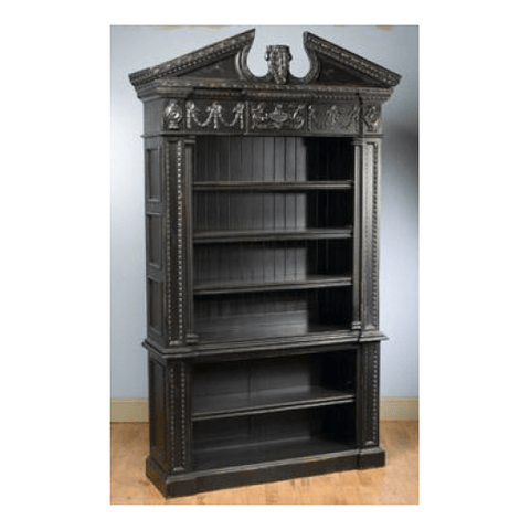 Bookcase Gregorian Black