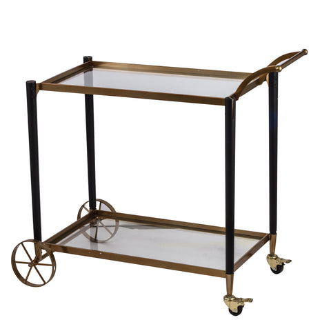 Classic Chic Gold Serving Cart