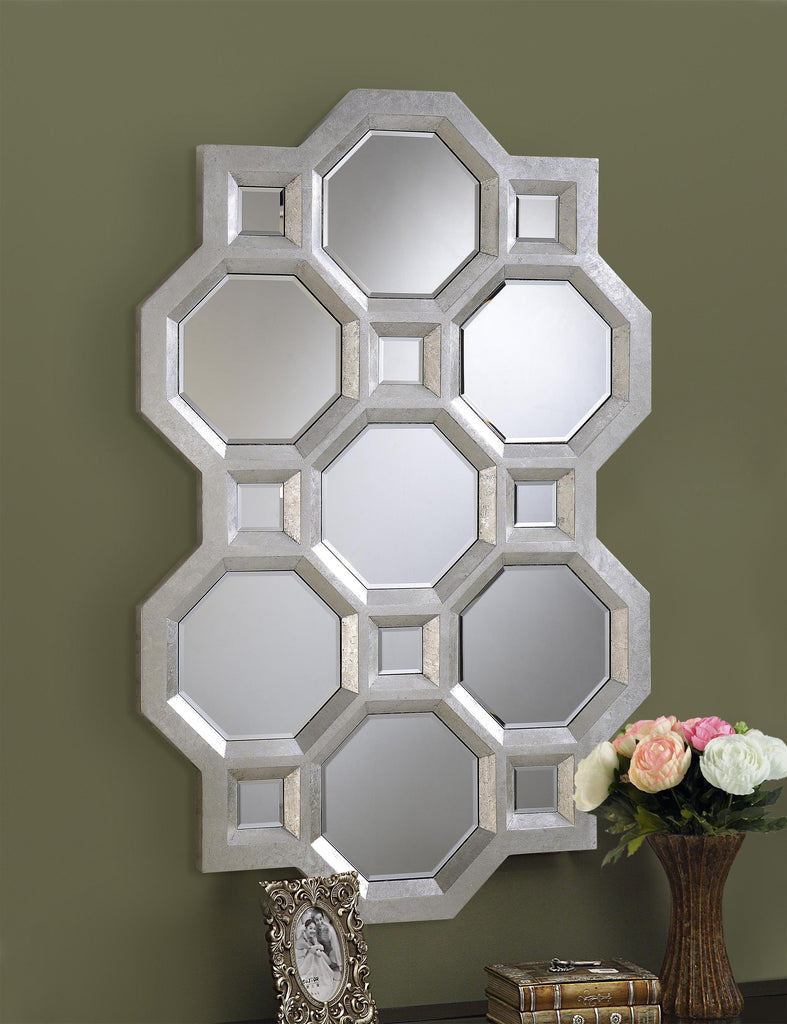 Silver Leaf Mirror (ON SALE)