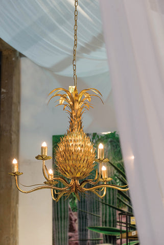 Image of Pineapple Chandelier