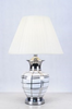 Black & White Checkered table Lamp