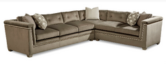 Morrissey Uph - Mani LAF Sofa / RAF Loveseat / Cor Sectional By A.R.T. Furniture